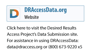 Visit the Desired Results Access Project Data Submission site